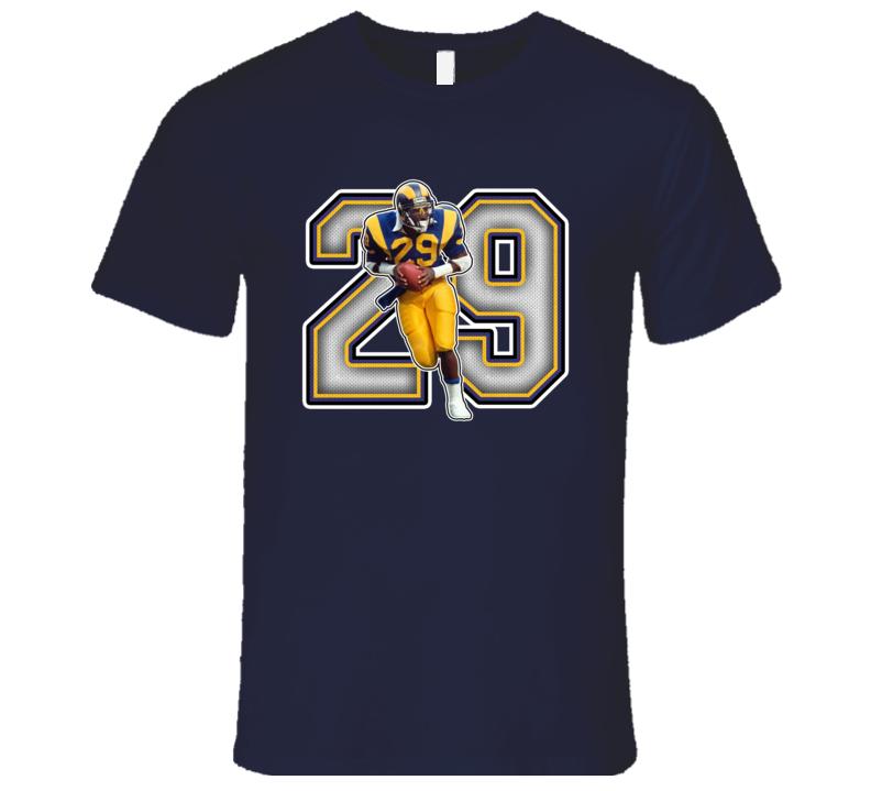 Eric Dickerson Los Angeles Football Legend Retro Sports T Shirt
