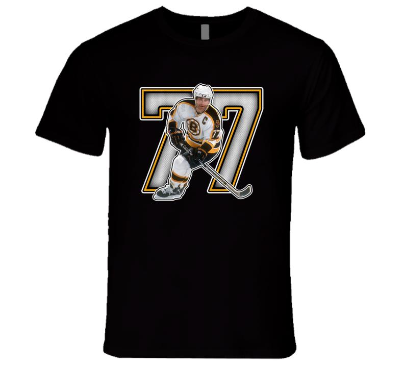 Ray Bourque Boston Hockey Legend Retro Sports T Shirt