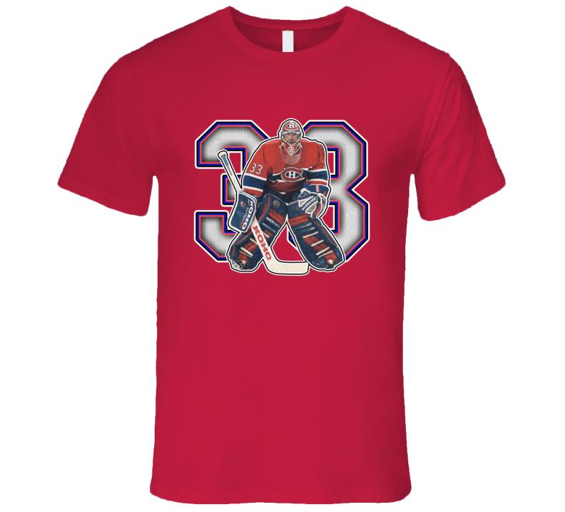 Patrick Roy Montreal Hockey Legend Retro Sports T Shirt