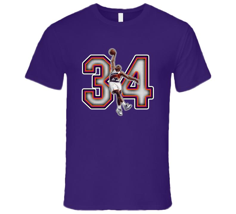 Charles Barkley Phoenix Basketball Legend Retro Sports T Shirt