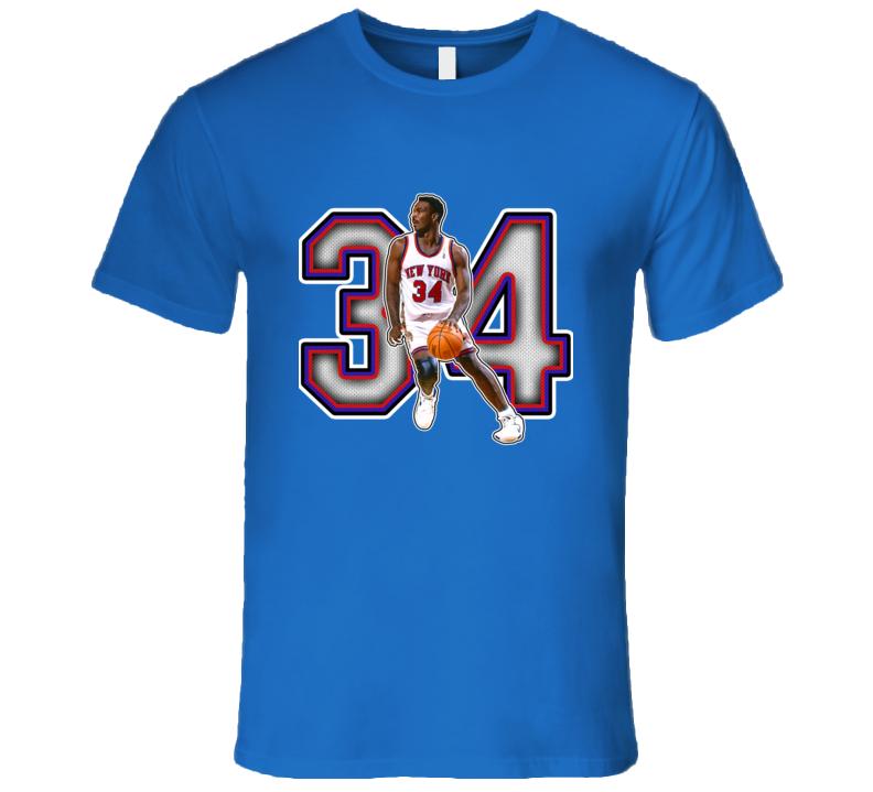Charles Oakley New York Basketball Legend Retro Sports T Shirt
