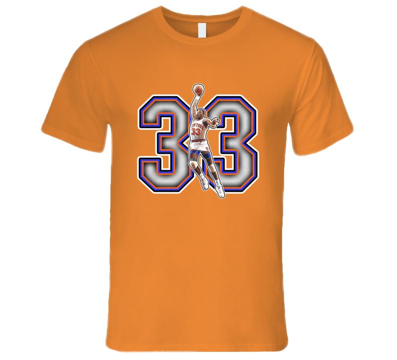 Patrick Ewing New York Basketball Legend Retro Sports T Shirt