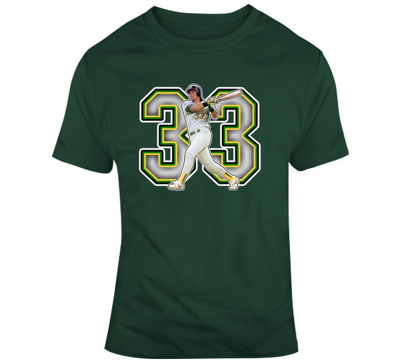 Jose Canseco Oakland Baseball Legend Retro Sports T Shirt