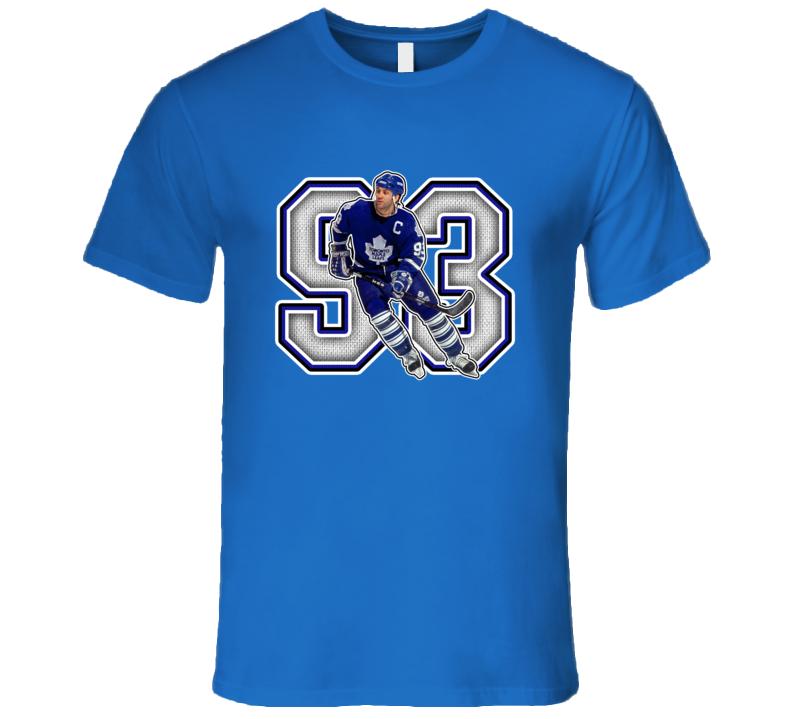Doug Gilmour Toronto Hockey Legend Retro Sports T Shirt