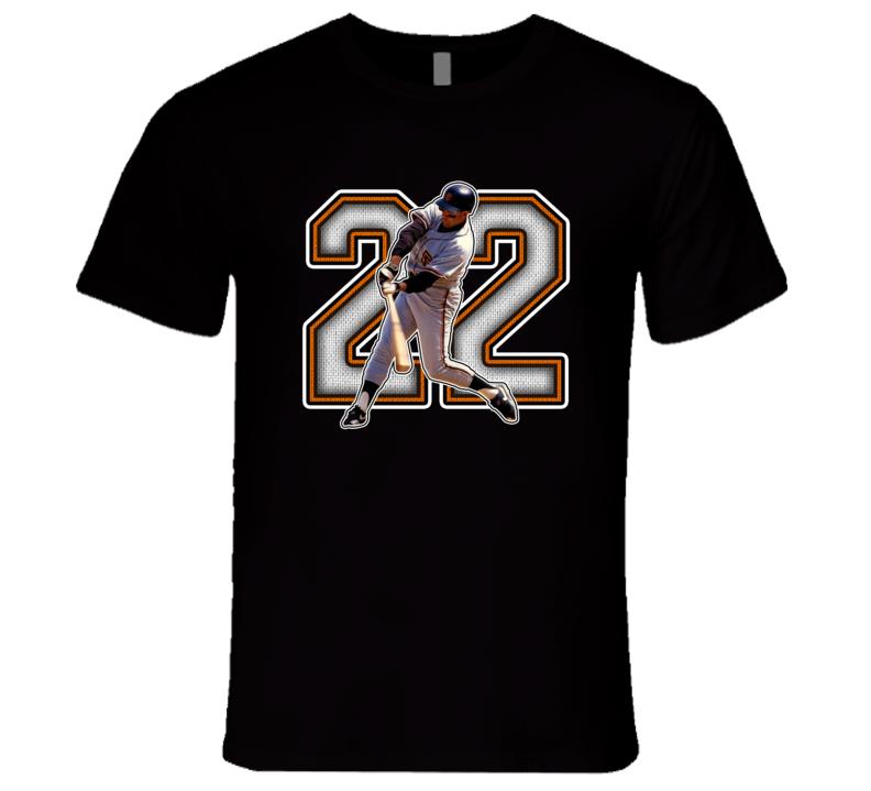 Will Clark San Francisco Baseball Legend Retro Sports T Shirt
