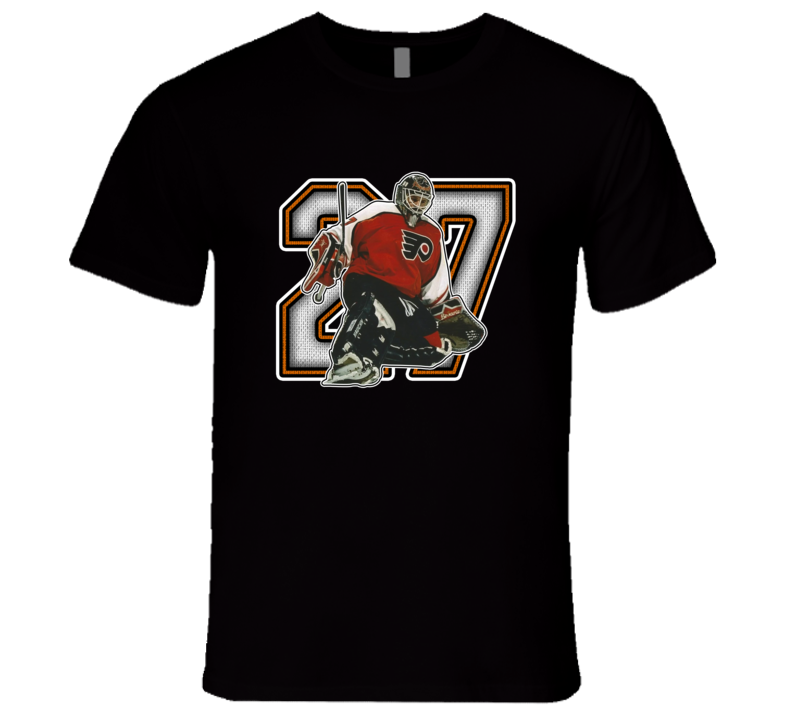 Ron Hextall Philadelphia Legend Retro Sports T Shirt