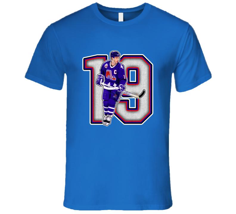 Joe Sakic Quebec Hockey Legend Retro Sports T Shirt