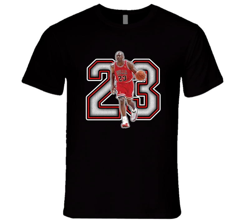 Michael Jordan Chicago Basketball Goat Legend Retro Sports T Shirt