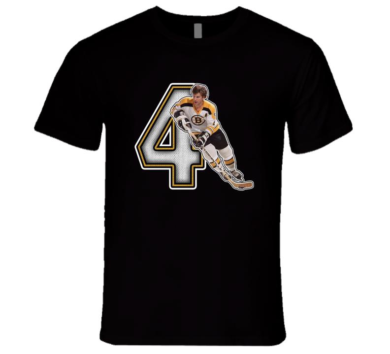 Bobby Orr Boston Retro Hockey Legend T Shirt