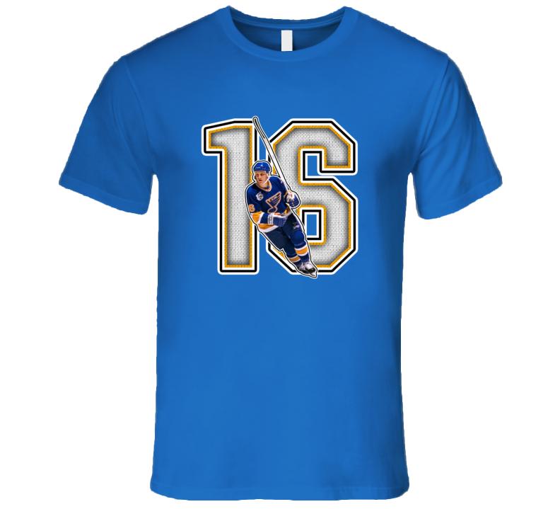 Brett Hull St Louis Retro Hockey Legend T Shirt