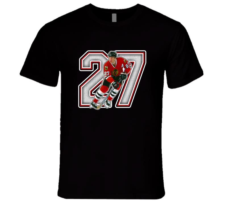 Jeremy Roenick Chicago Retro Hockey Legend T Shirt