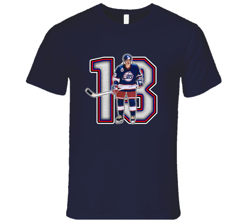 Teemu Selanne Winnipeg Retro Hockey Legend T Shirt