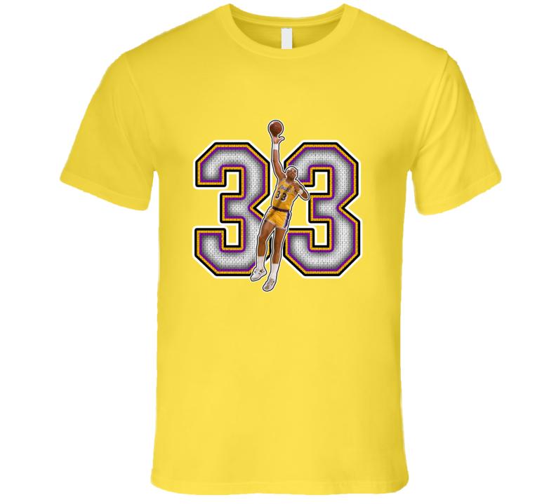Kareem Abdul Jabbar Los Angeles Retro Basketball Legend T Shirt