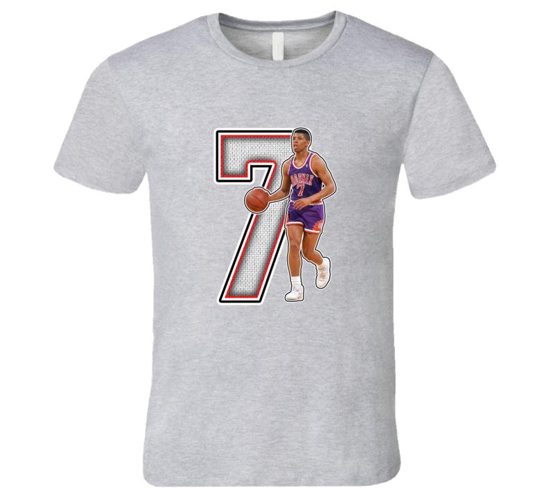 Kevin Johnson Phoenix Retro Basketball Legend T Shirt