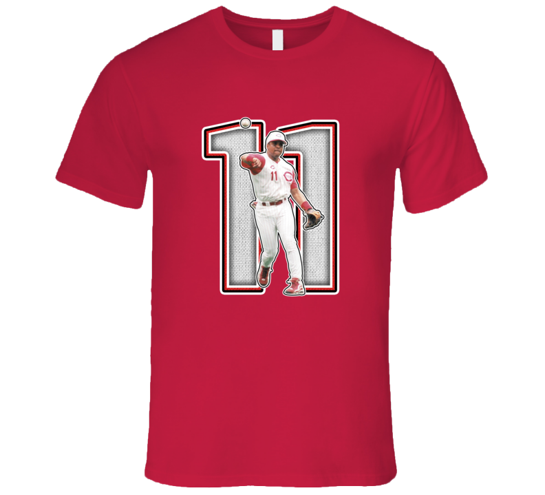 Barry Larkin Cincinnati Legend Retro Baseball T Shirt