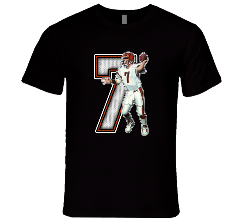 Boomer Esiason Cincinnati Football Legend Retro T Shirt