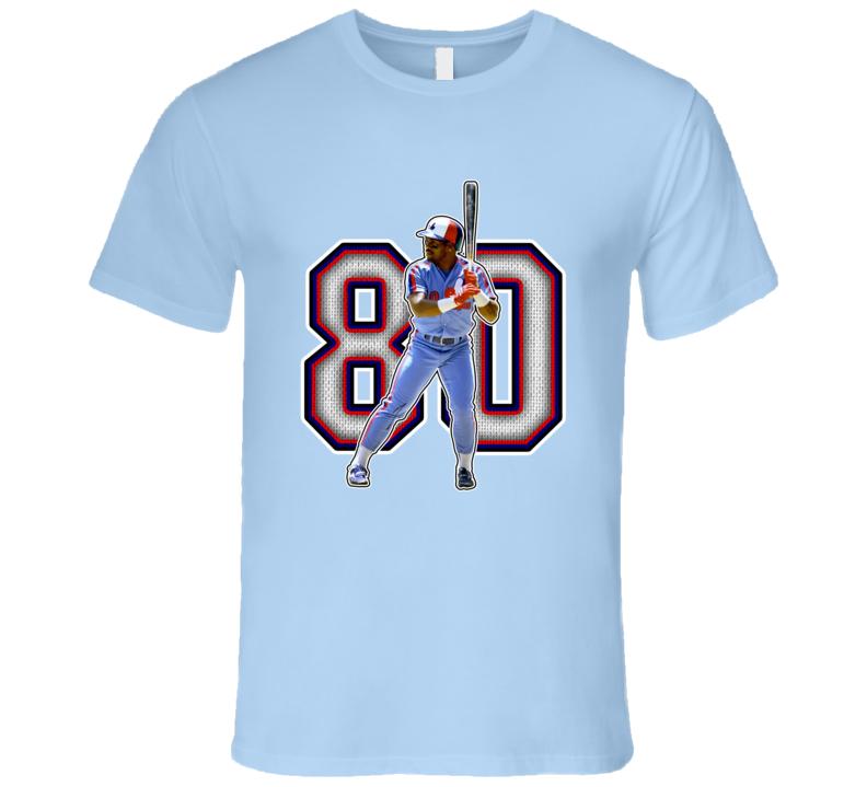 Tim Raines Montreal Baseball Legend Retro T Shirt