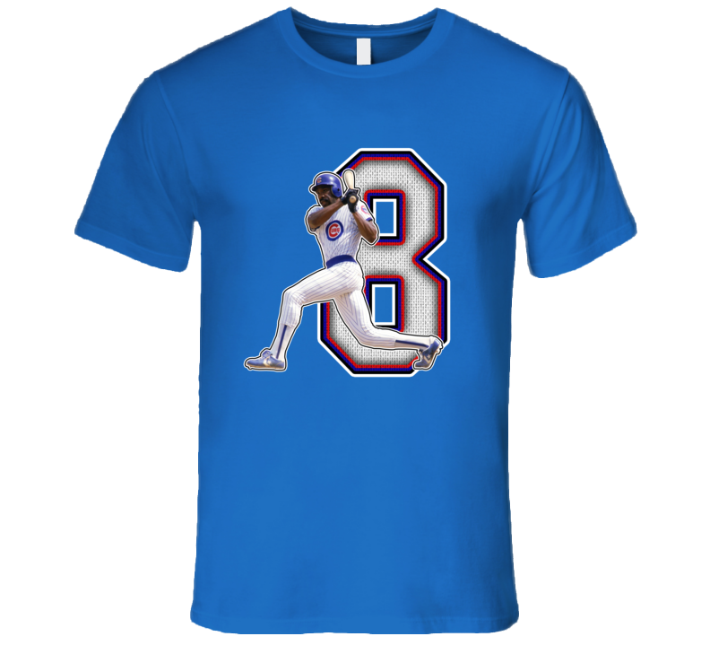 Andre Dawson Chicago Baseball Legend Retro T Shirt