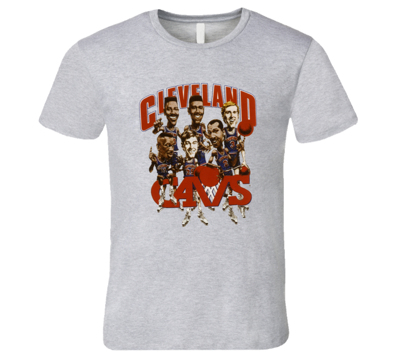 Clevland Basketball Team Elho Price Daughtery Caricature T Shirt