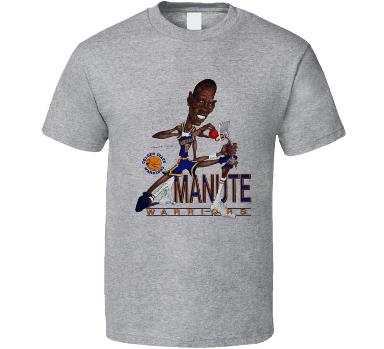 Manute Bol Golden State Basketball Caricature Retro Sports T Shirt