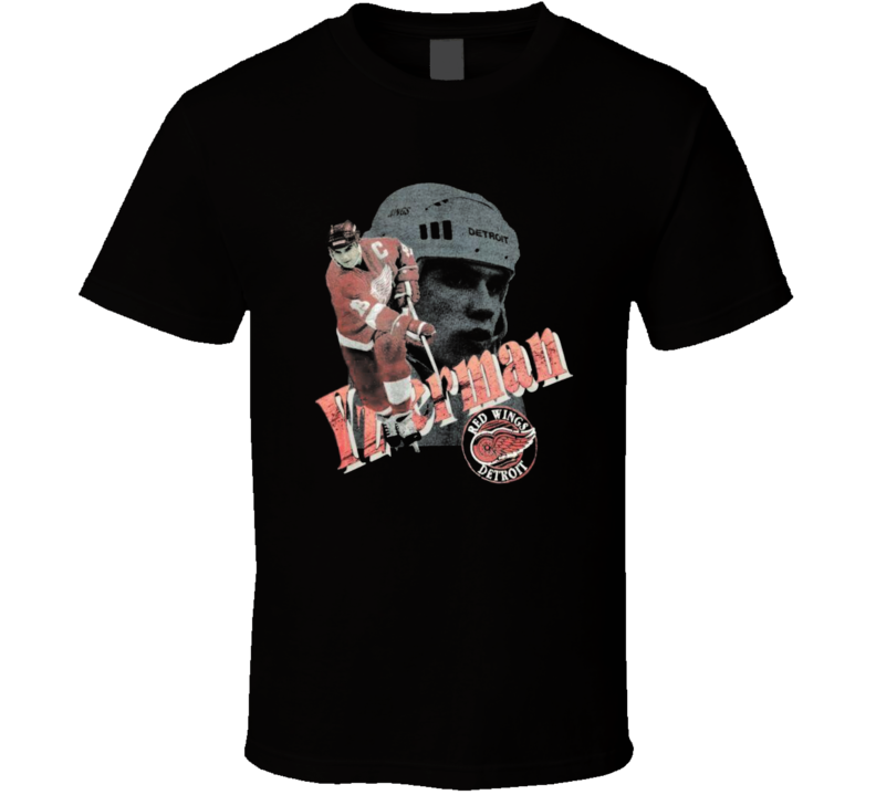 Steve Yzerman Detroit Hockey Legend Retro T Shirt
