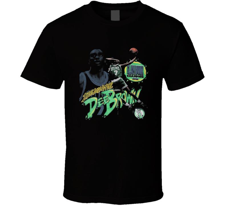 Dee Brown Boston Legend Retro Basketball T Shirt