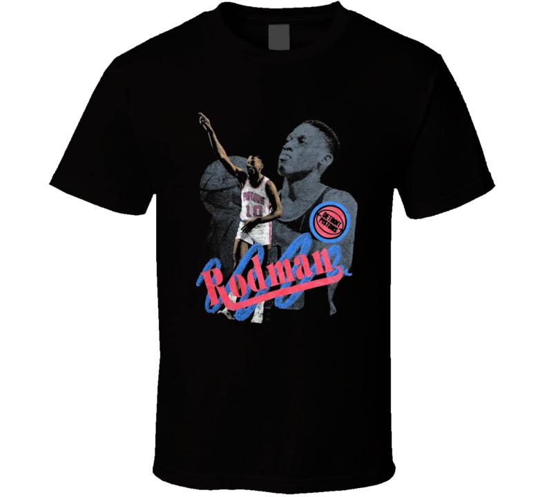 Dennis Rodman Retro Basketball Detroit Legend T Shirt