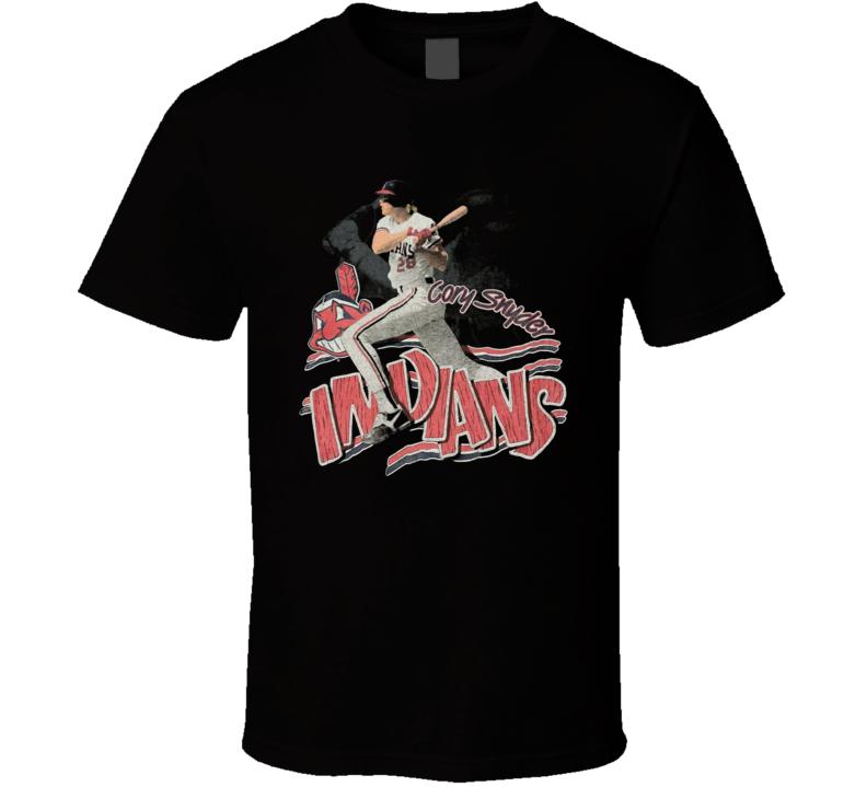 Cory Snyder Cleveland Baseball Superstar Retro T Shirt