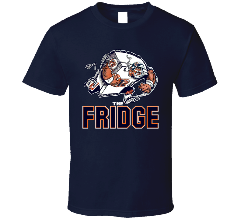 William The Refrigerator Perry Chicago Football T Shirt