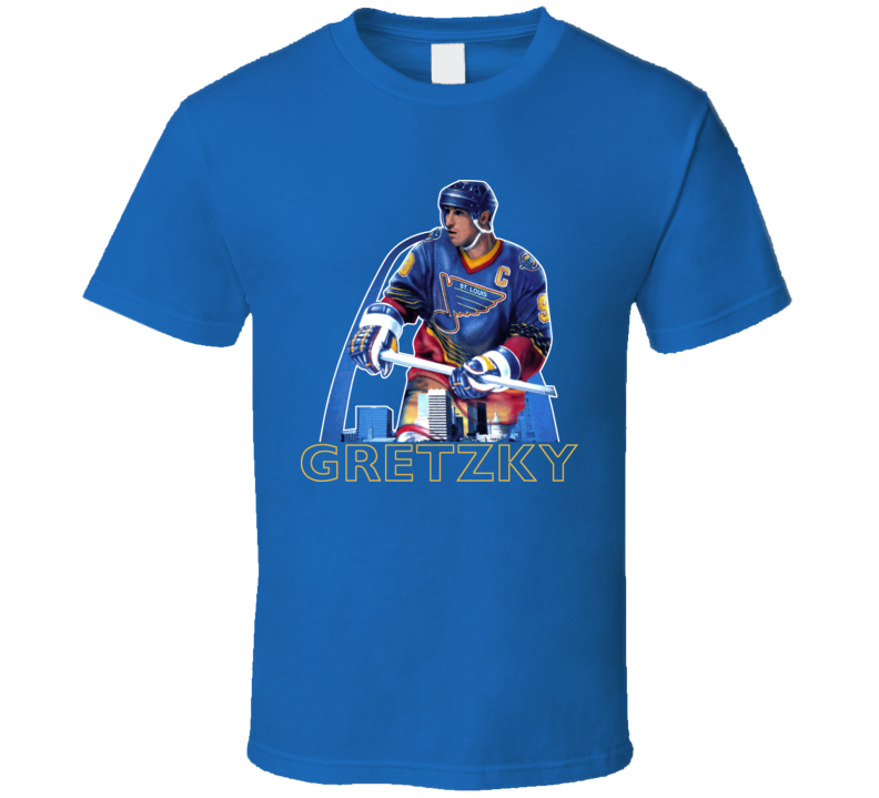 Wayne Gretzky Retro Hockey Legend T Shirt