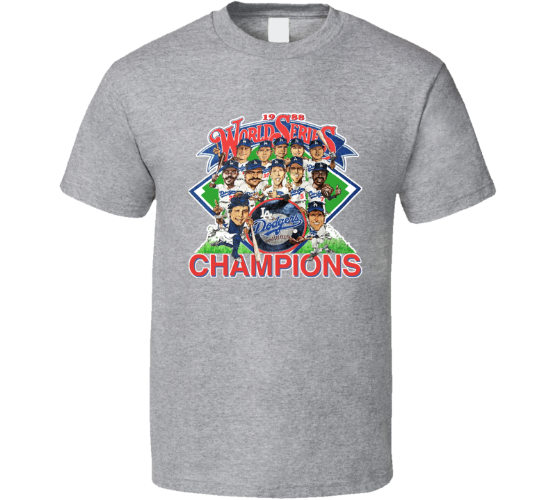 Los Angeles 1989 World Series Baseball Champs T Shirt