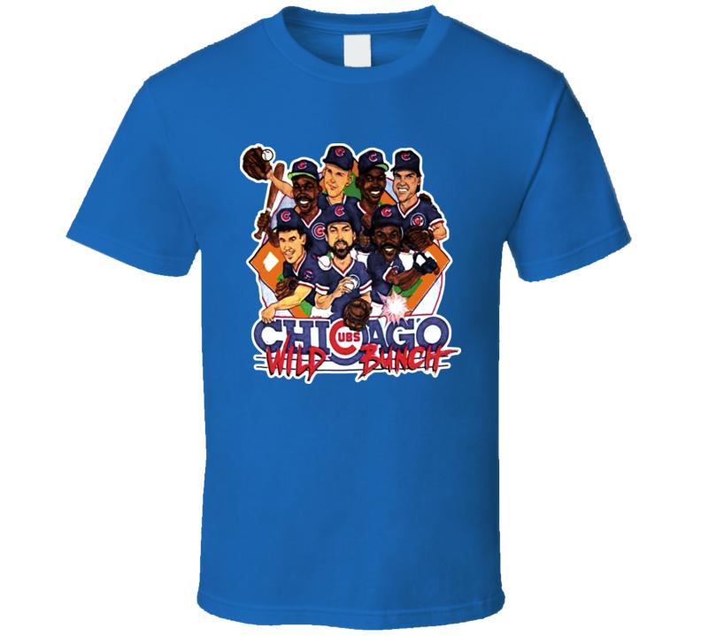 Chicago Baseball Retro Baseball Caricature T Shirt