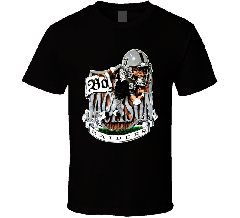 Bo Jackson Football Caricature Shirt