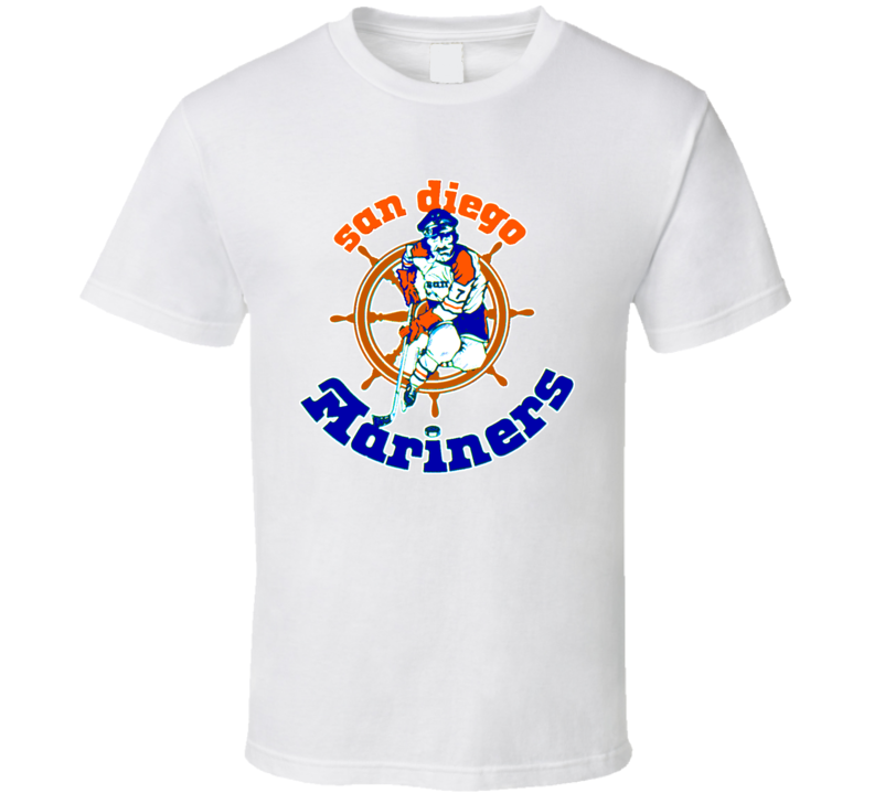San Diego Mariners Wha Hockey T Shirt