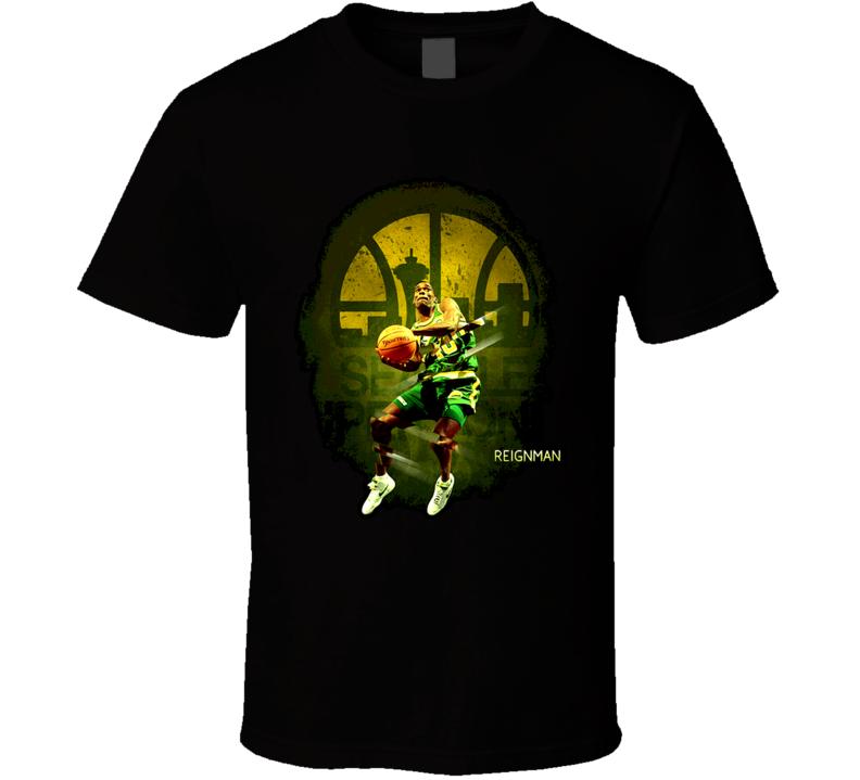 Shawn Kemp Reignman T Shirt