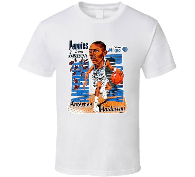 Anfernee Penny Hardaway Basketball Caricature Retro T Shirt