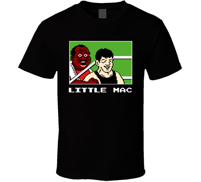 Mike Tyson's Punchout Little Mac Funny T Shirt