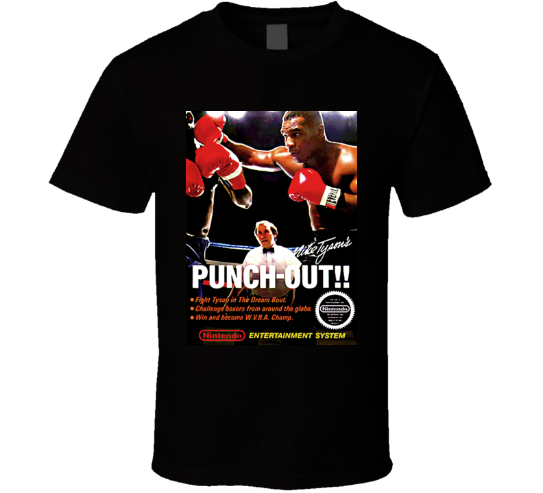 Mike Tysons Punchout Box Retro T Shirt