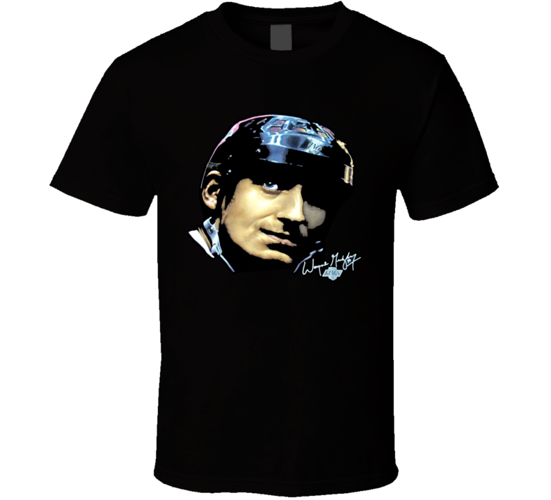 Wayne Gretzky Retro Hockey T Shirt
