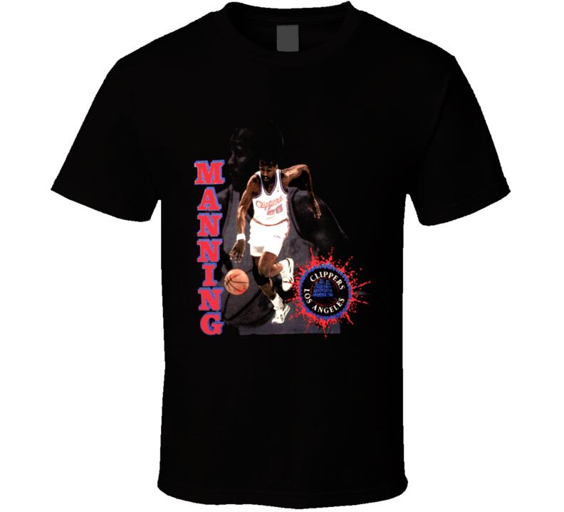 Danny Manning Retro Basketball T Shirt