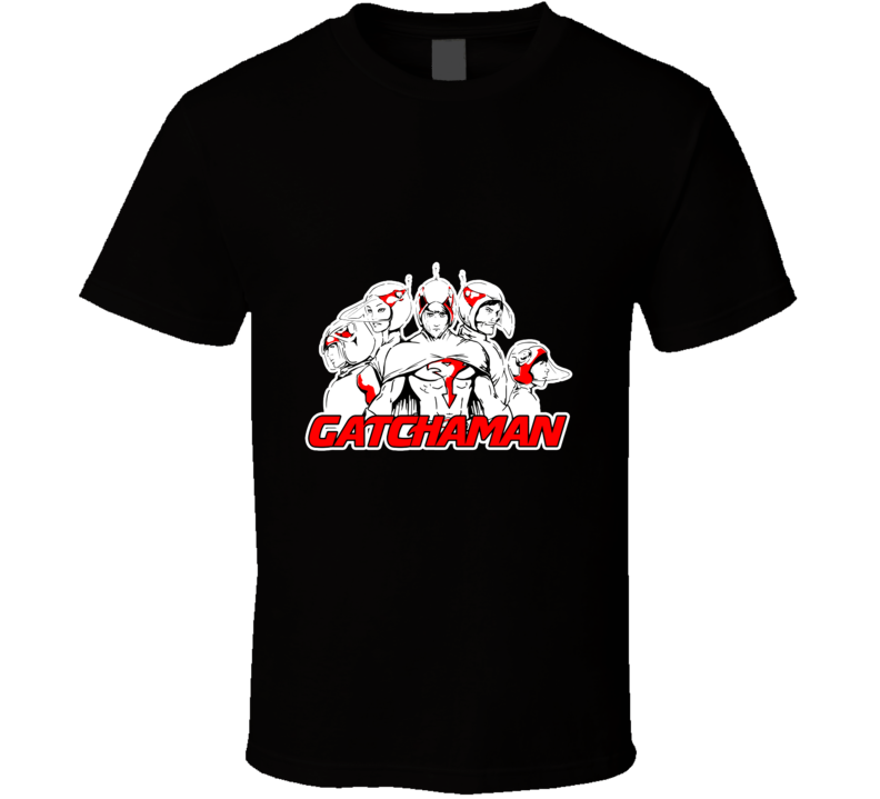 Battle Of The Planets The Gatchaman Squad T Shirt