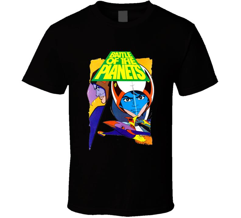 Battle Of The Planets Cartoon Retro T Shirt