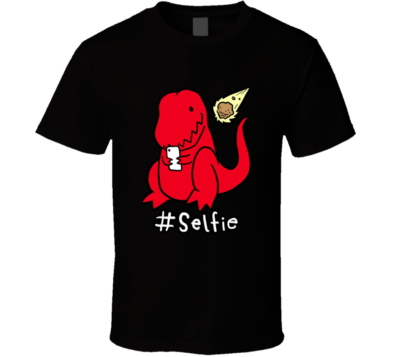 T-rex Cute Dinothis Is To Sad A Cute Smiley Dinosaur Just Selfie T Shirt