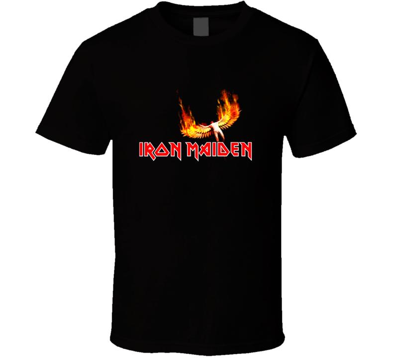 Iron Maiden Logo T Shirt