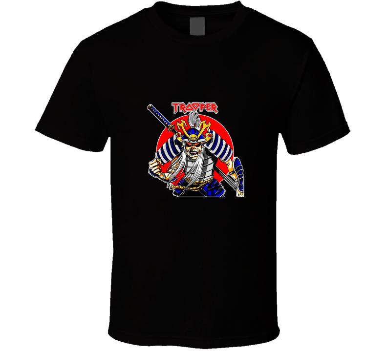 Iron Maiden The Samurai Trooper T Shirt