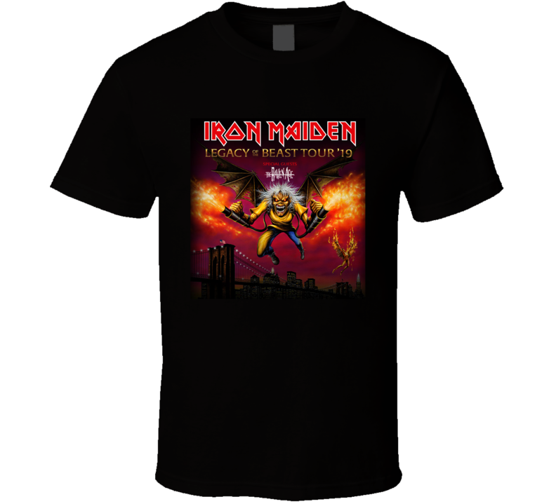 Iron Maiden The Revenge T Shirt