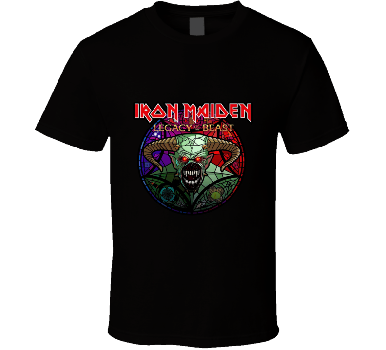 Iron Maiden Legacy Of The Beast Logo T Shirt