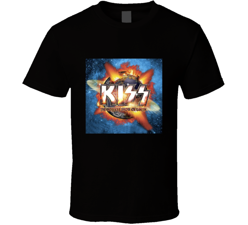 Kiss Tour Concert The Hottest Show On Earth T Shirt