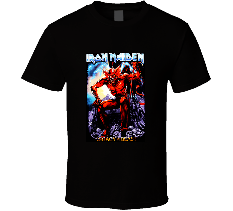 Iron Maiden Legacy Of The Beast T Shirt