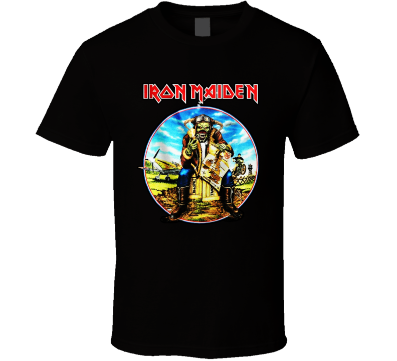 Iron Maiden Legacy Of The Beast Tour Logo T Shirt
